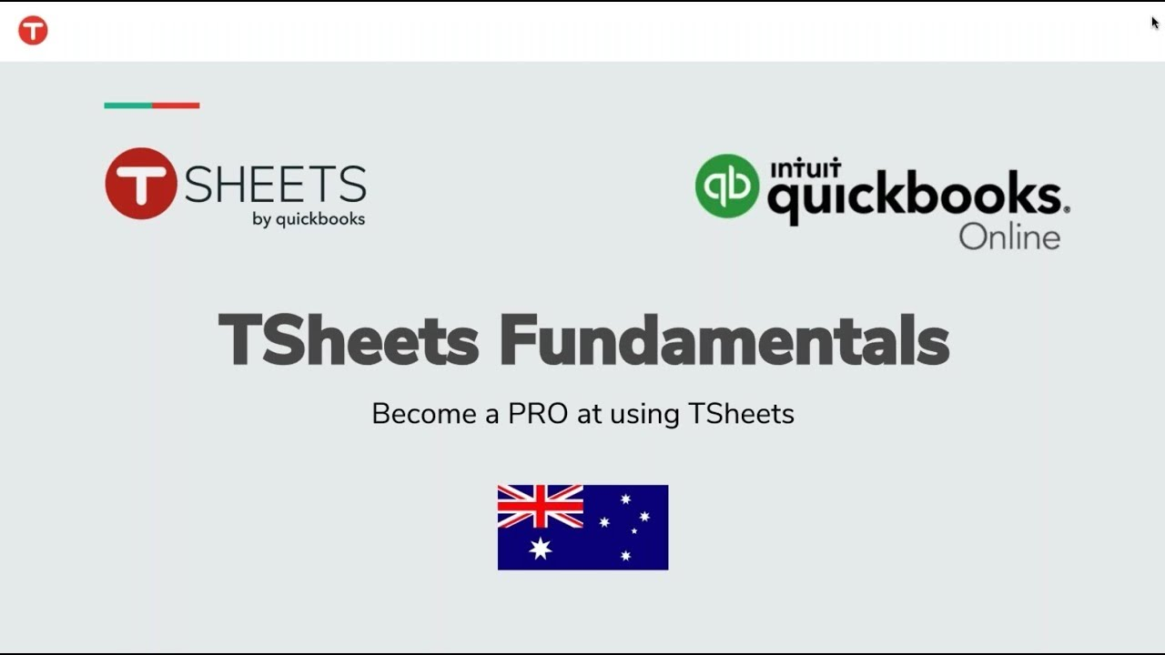 T Sheets and QuickBooks - Fundamentals | AUS