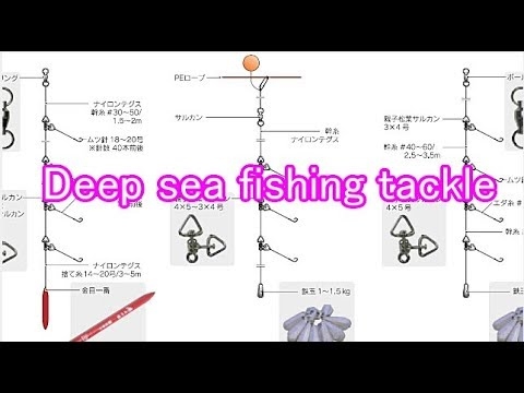 How To Make A Fishing Tackle - Deep Sea Fishing (bottom Fishing)NEW