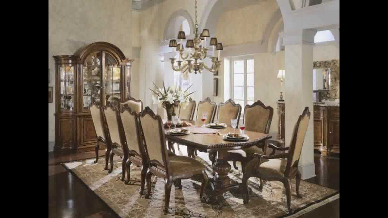 Victorian dining room decorating ideas youtube for Fancy dinner table