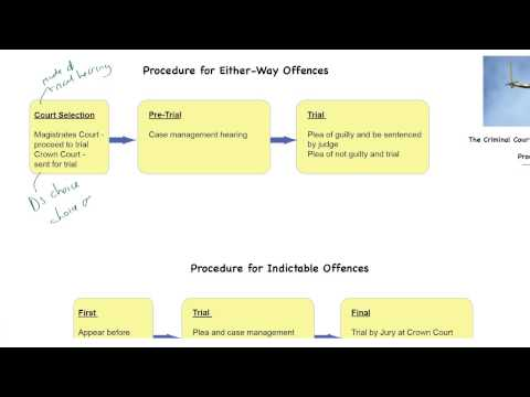 Criminal Courts # 2 - Procedure to Trial