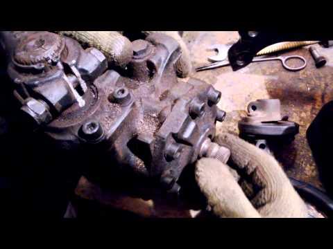 №20. Ремонт W124. Центровка рулевого редуктора.