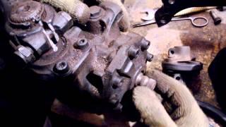 №20. Ремонт W124. Центровка рулевого редуктора.(, 2014-02-11T16:12:20.000Z)
