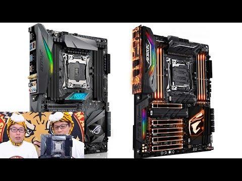 ジサトラKTU #18 ~X299マザーボード、どれを買えばいい?~