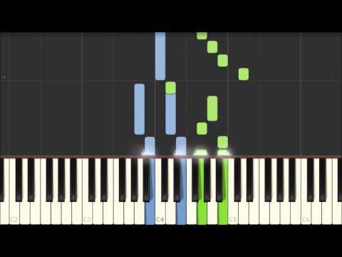 Bluestone Alley - Congfei Wei [Piano Tutorial] (Synthesia)