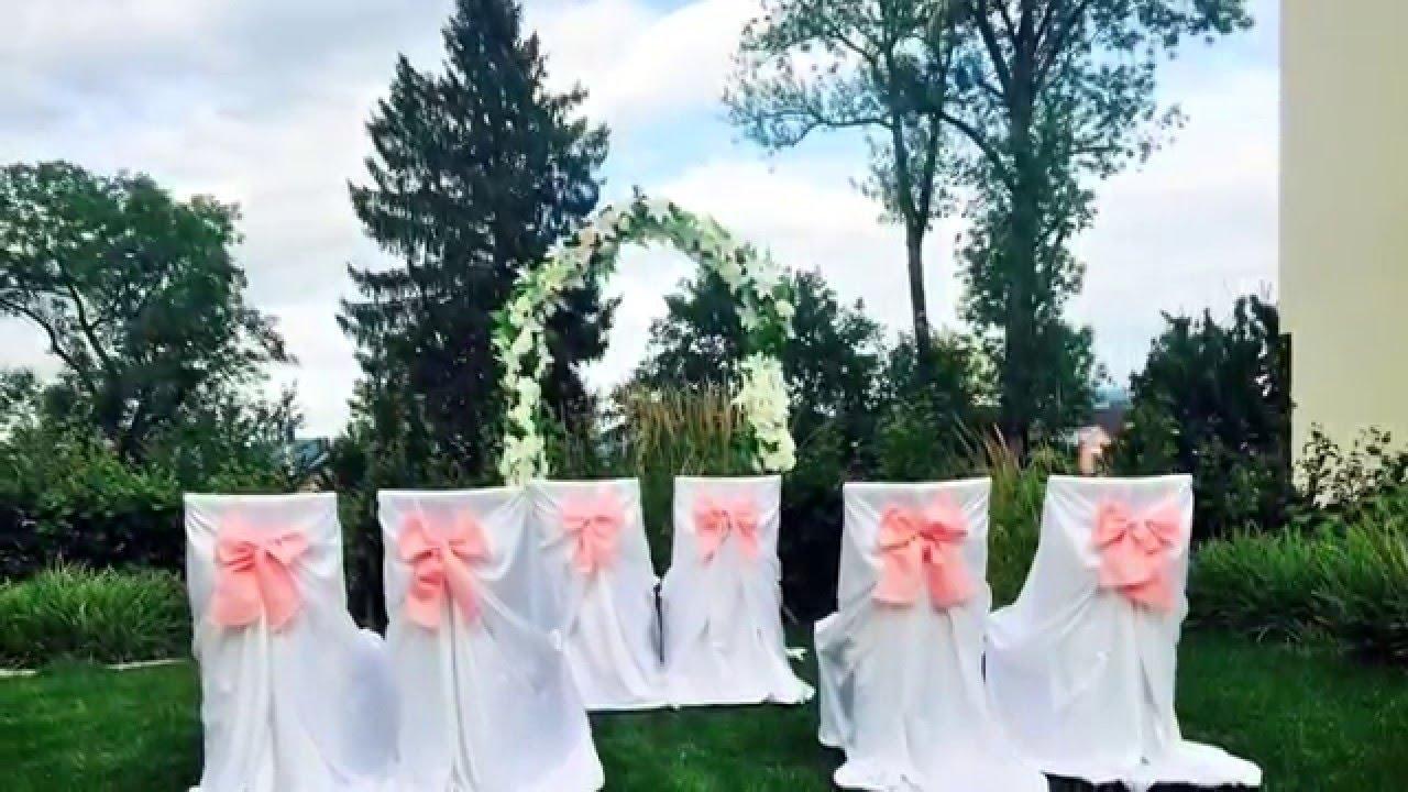 Hochzeitsdeko Mieten Stuhlhussen