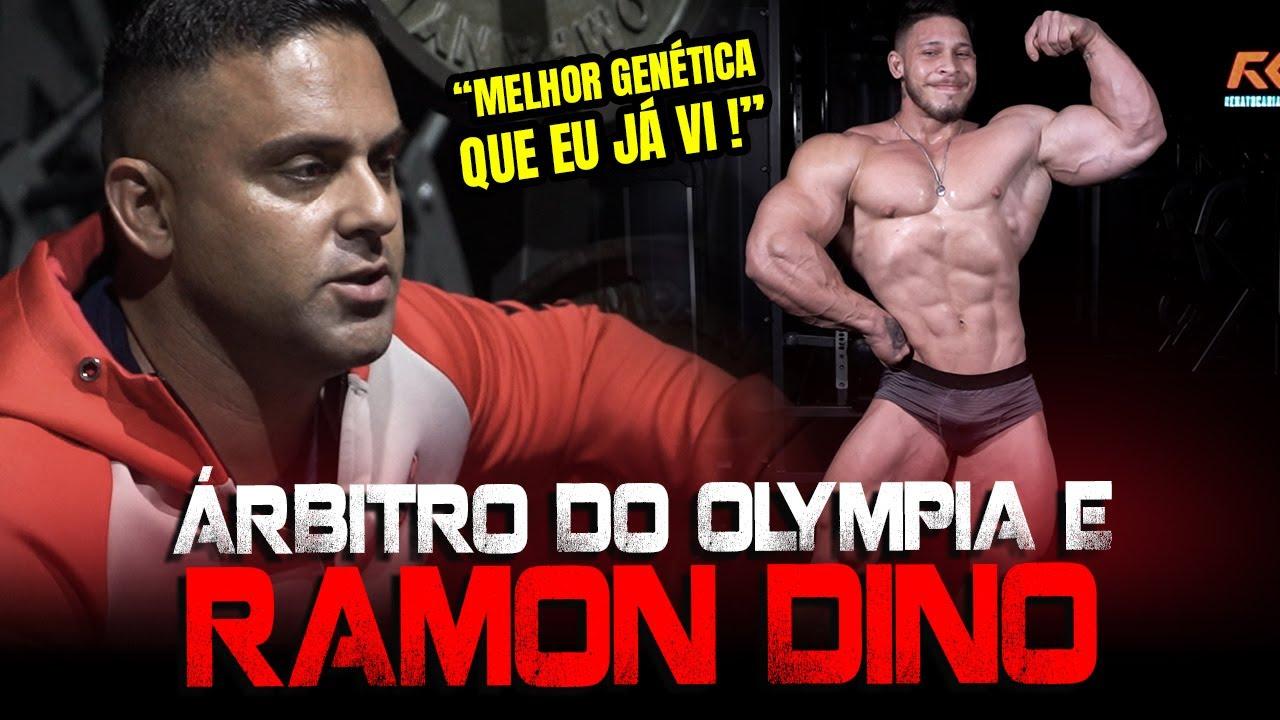 ÁRBITRO DO OLYMPIA AVALIOU RAMON DINO