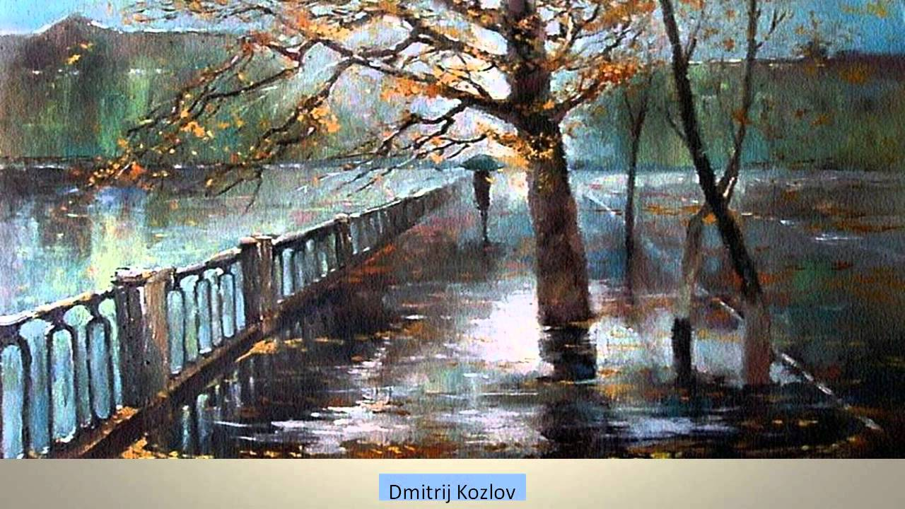 Image result for paintings rainy day