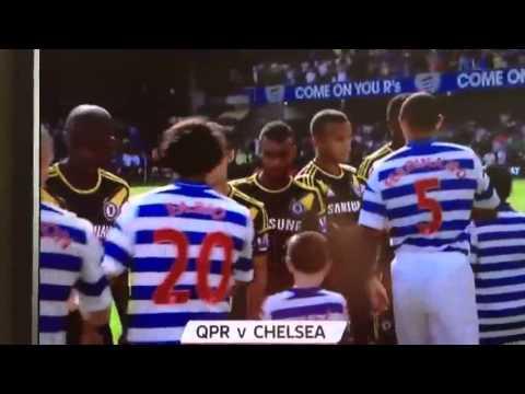 John Terry HANDSHAKE FAIL Anton Ferdinand (QPR VS Chelsea)