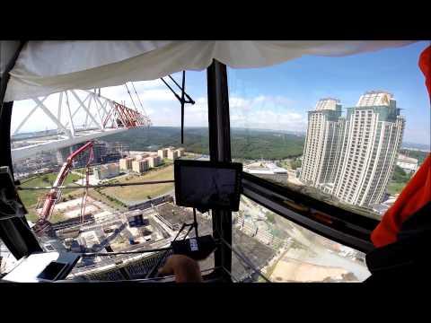Kule Vinç Kamera Görüntüleme Sistemi - Tower Crane Camera