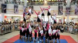 AIE COLLEGE Cabanatuan CHEERING SQUAD @ NE PACIFIC MALL