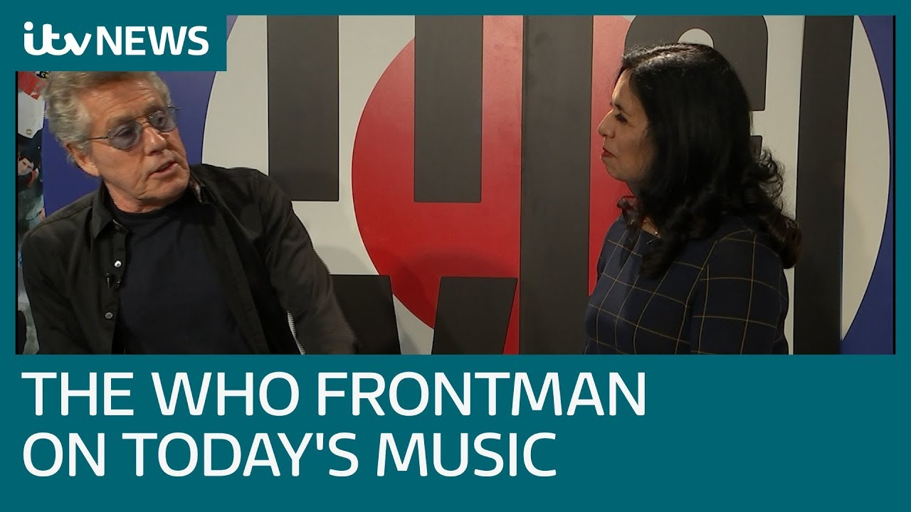 The Who frontman on today's music industry | ITV News