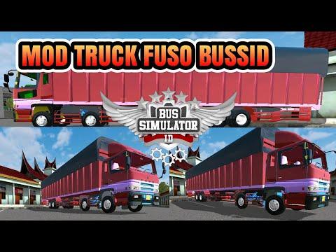 Mod Bussid Truck Fuso || BUSSID V2 9