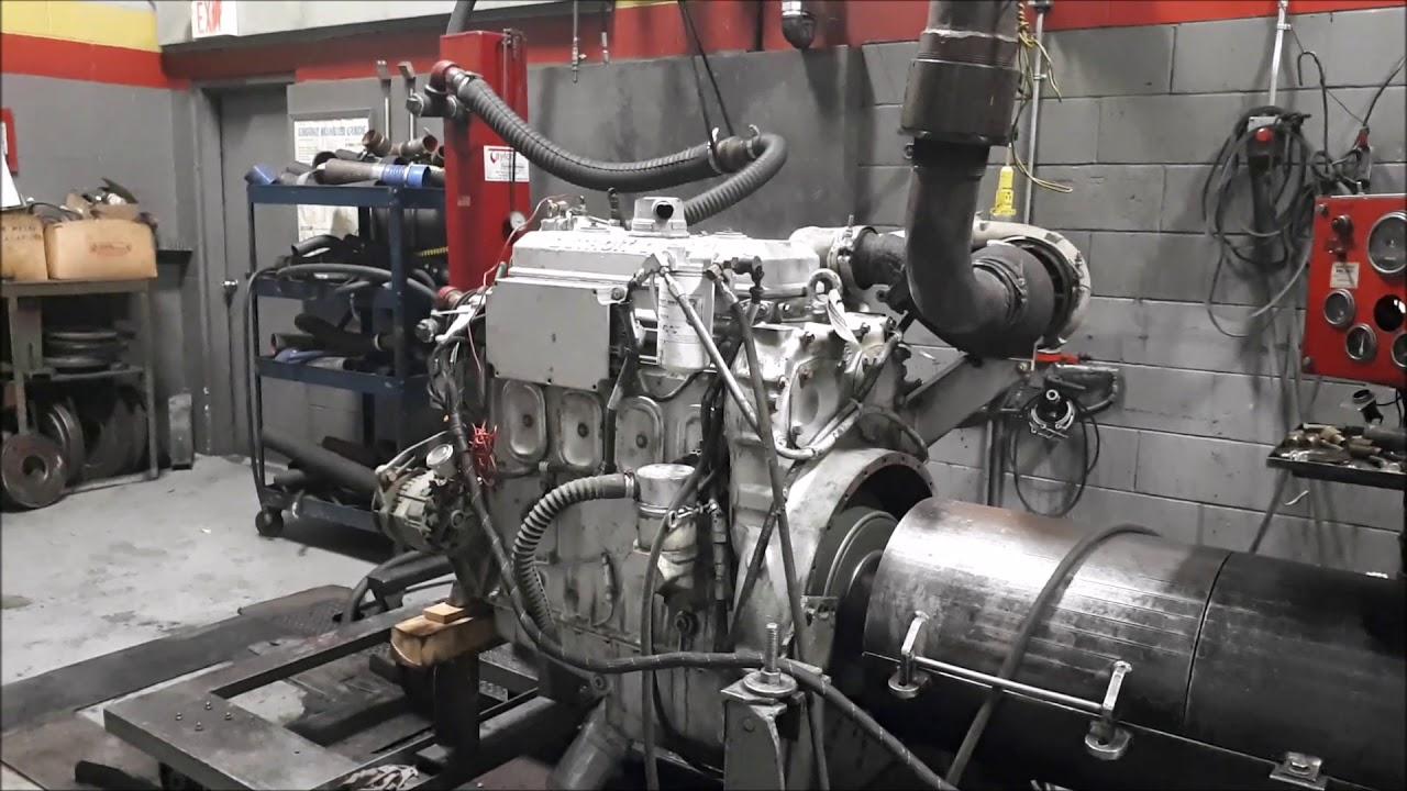 Detroit Diesel 4-71 DDEC IV: Diesel Engine Dyno Test