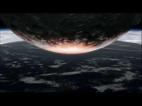 500 kilometre wide asteroid impact