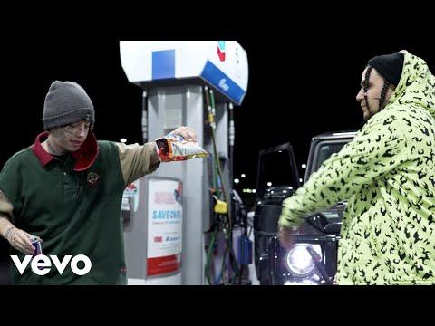 Смотреть клип Kinfolk Jon, Lil Xan, $Teven Cannon - Gassed
