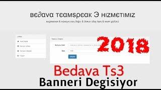 Bedava Ts3 Server 150 Kişilik Banneri Degişen Türk Sitesi [2018]