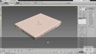 Создание постели в 3Ds max. Cloth