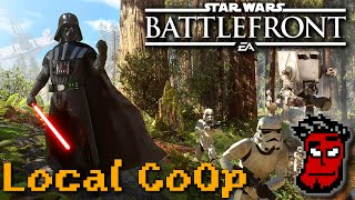 Star Wars Battlefront: Splitscreen Local Multiplayer Gameplay [German Deutsch] Couch-CoOp!