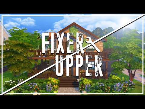 COLLECTOR'S CAVE // The Sims 4: Fixer Upper - Home Renovation