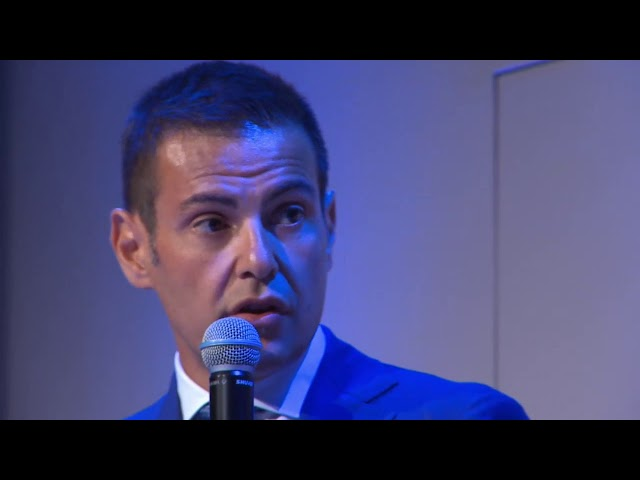 19-07-2018: Chicco Blengini alla presentazione dei calendari di Serie A Credem Banca