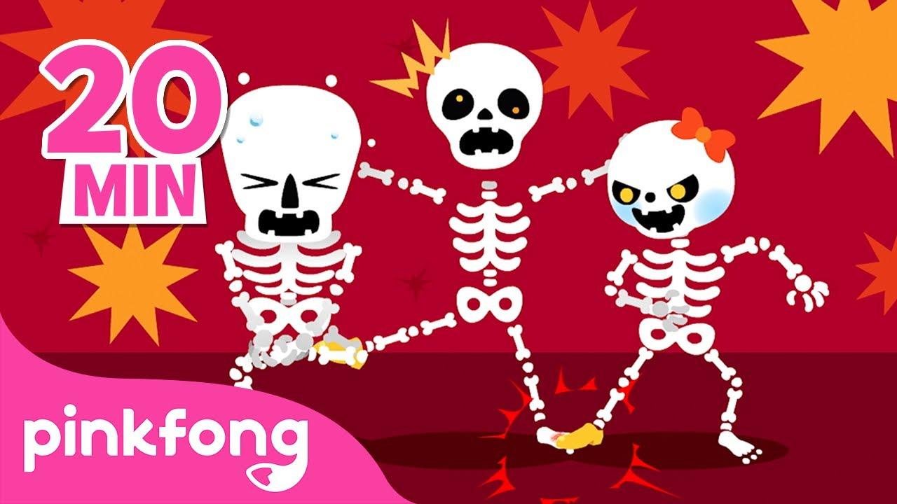 Las calaveras salen de su tumba 💀  Chumbala Cachumbala   Halloween   Pinkfong Canciones Infantiles