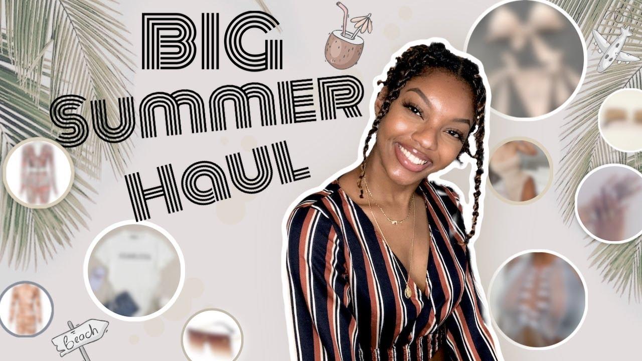 BIG SUMMER HAUL ┊  TRY-ON Aliexpress Shein PLT +