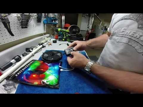 How To Install Amazon LED Strip Lights On A Fishing Boat