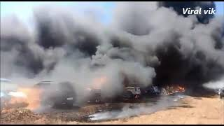Airshow fire accident in bangalore