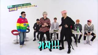 151216 Weekly Idol ep229 BTS방탄소년단 EXID Cover Dance