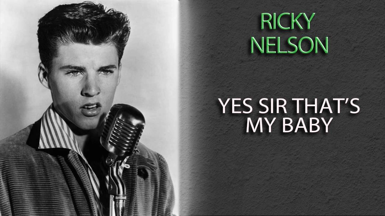 ricky-nelson-yes-sir-that-s-my-baby-music-legends-book