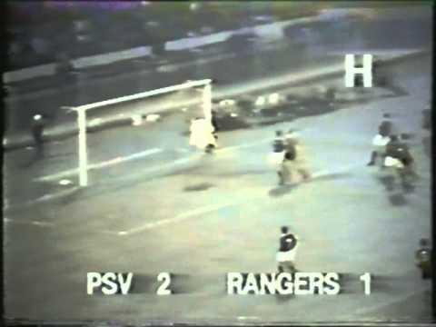 PSV Eindhoven 2 v 3 Rangers - European Cup 1978