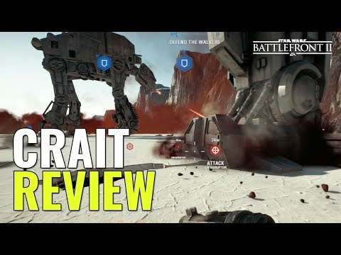 Star Wars Battlefront 2 - CRAIT REVIEW & GAMEPLAY