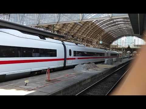 Almost hit by an ICE train in Germany - Frankfurt Hauptbahnhof