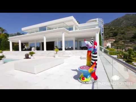 A modern paradise with panoramic sea views...