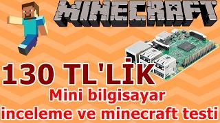130 TL'lik mini bilgisayar inceleme ve oyun testi (minecraft v.s)
