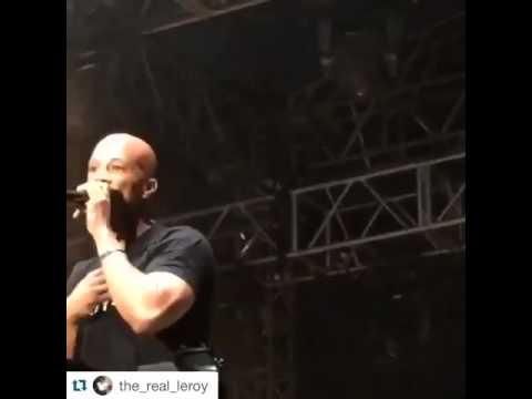 Rapper Common Performs @Bham's City Fest