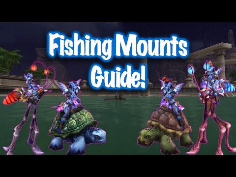 Jessiehealz - Fishing Mounts Guide (World Of Warcraft)