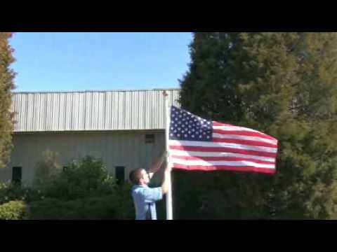 20' Telescopic Flagpole – Adjustable