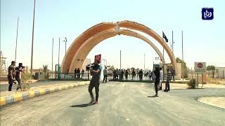 اصدار أول بيان جمركي لنقل البضائع الأردنية إلى العراق عبر معبرِ طريبيل - (19-9-2017)