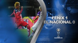 Fénix vs. El Nacional [1-0] | RESUMEN | Primera ronda (Ida) | CONMEBOL Sudamericana 2020