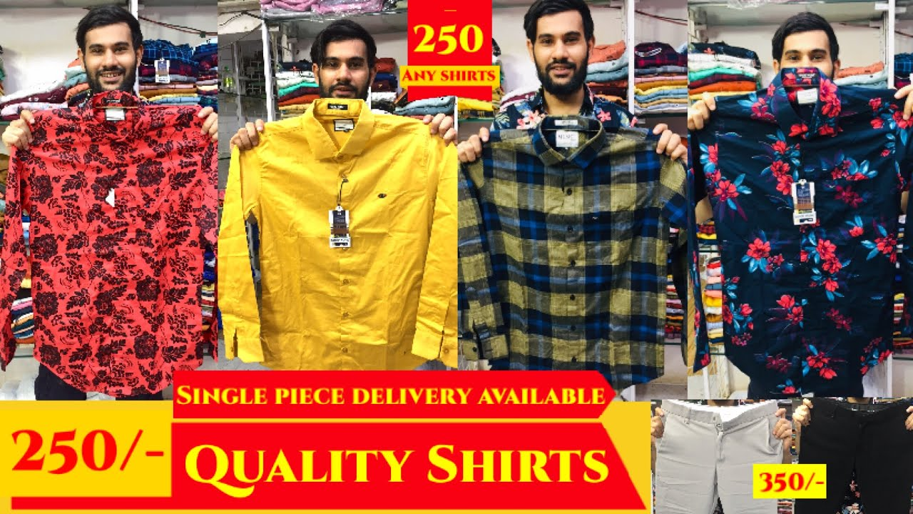 Lockdown Dhamaka 🤩 Quality shirts 250/- Only. Lycra pants 350/- Only.Single piece delivery available