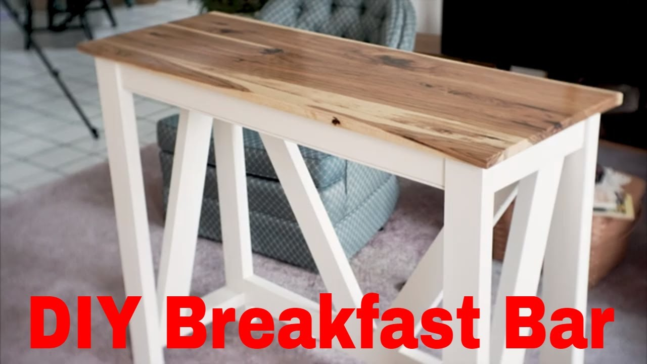 Diy Breakfast Bar Build Video