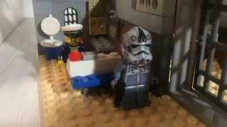 Лего база выживших ,самоделка база от зомби