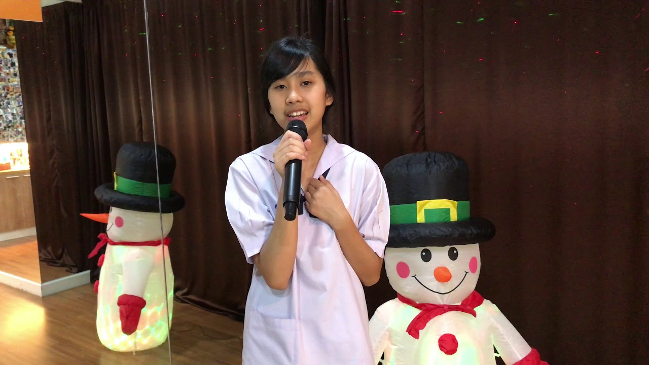 #LastChristmas - Black Pink Cover by  น้องออม อายุ14ปี ร.ร. ต.อ.น. ชั้น ม.2  (Voice & Dance Class)
