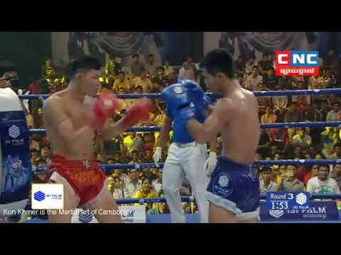 Kun Khmer, Chhai Sara Vs Kriangkrai (Thai) on 01 July 2018 | Fights Zone