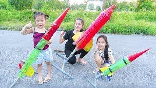 Sáng Tạo Siêu Phẩm TÊN LỬA NƯỚC ( Rocket Watter ) - Trang Vlog