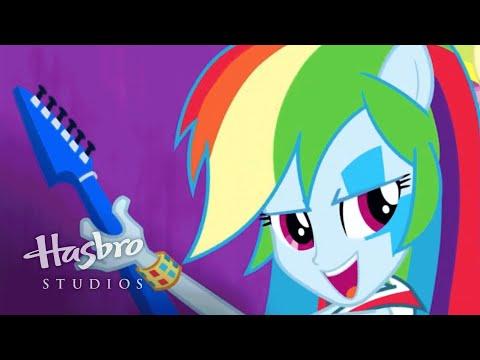 "MLP: Equestria Girls - Rainbow Rocks SING-ALONG - ""Shake your Tail!"""