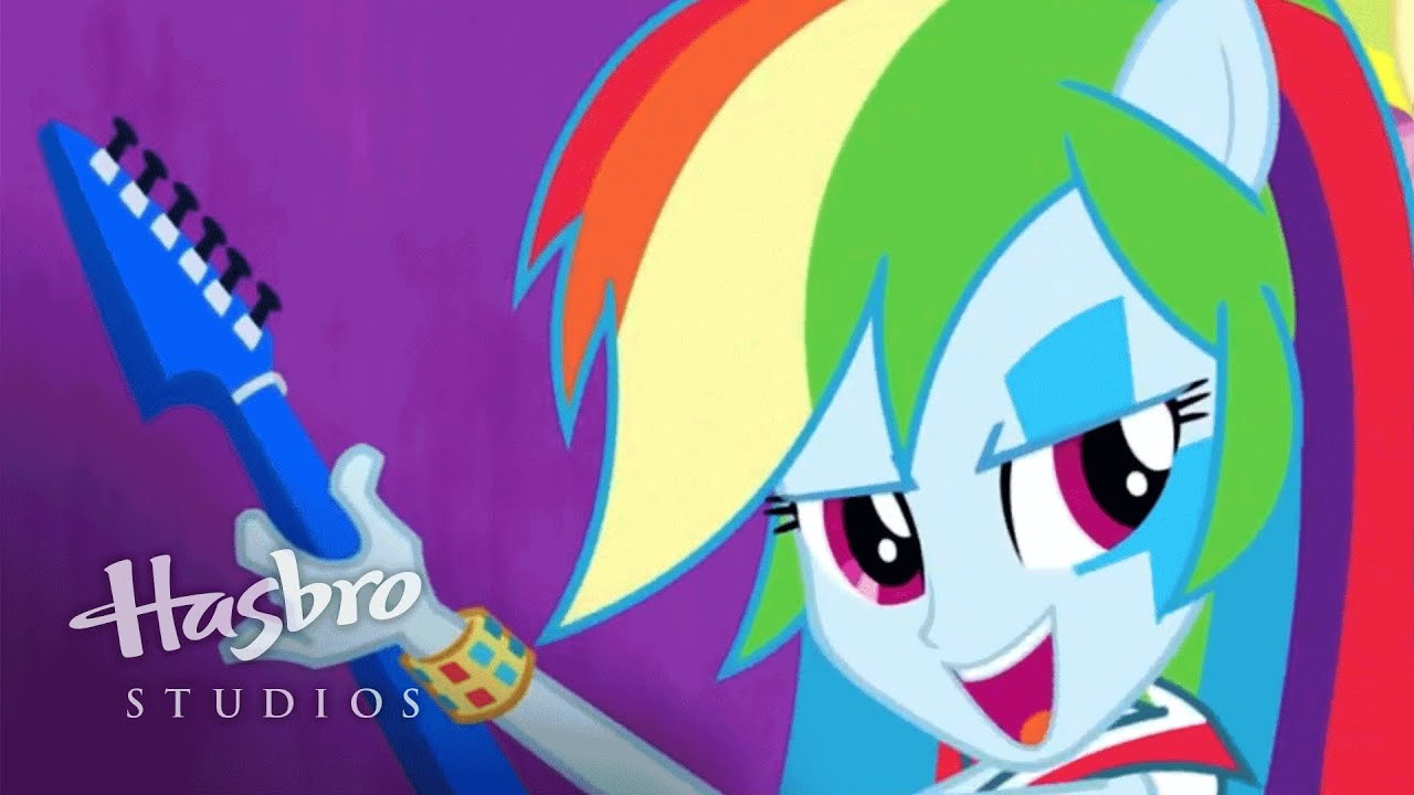 mlp equestria girls   rainbow rocks sing along   shake your tail