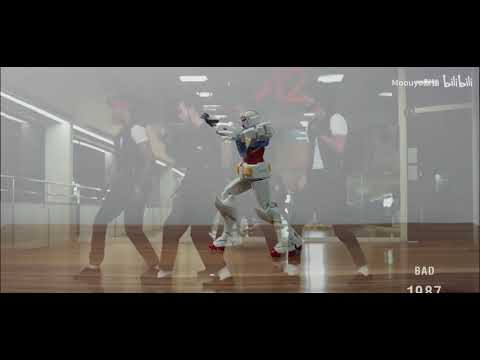 The Inspiration And Comparison Of MJ-dancing Gundam Animation