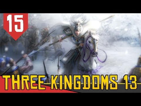 O Tigre de Olho na Carne - Romance of the Three Kingdoms XIII #15 [Gameplay Português PT-BR]